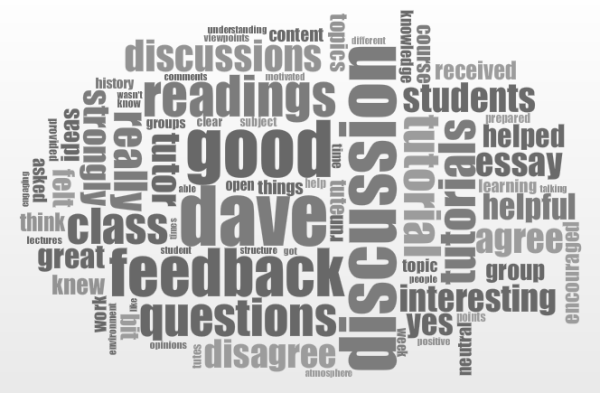 Feedback word-cloud